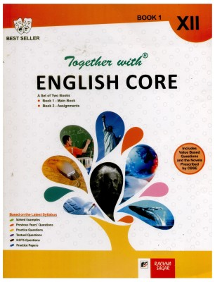 Buy Together with English Core: Together with English Core Assignment Booklet for Class ??? XII (Set of 2 Books) 23rd Edition: Book