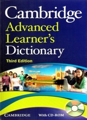 Buy Cambridge Advanced Learner's Dictionary (With CD) (English) 3rd  Edition: Book