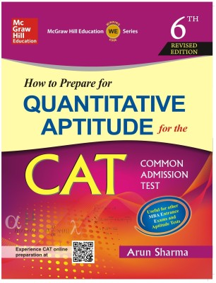 How to Prepare for Quantitative Aptitude for the CAT (English) 6th Edition price comparison at Flipkart, Amazon, Crossword, Uread, Bookadda, Landmark, Homeshop18