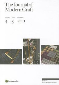 The Journal of Modern Craft (English) (Paperback)