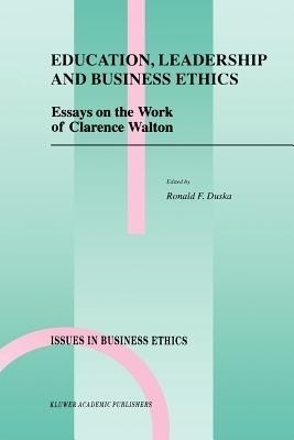 Essays on ethics in education