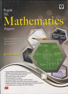 ISC Class 12: Mathematics Syllabus - The Learning Point