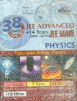 38 Years IIT-JEE Advanced + 14 yrs JEE Main Topic-wise Solved Paper (PCM) 11th Edition (English) 11 Edition: Book
