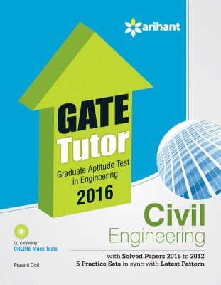 GATE Tutor 2016 - Civil Engineering (English) 7 Edition price comparison at Flipkart, Amazon, Crossword, Uread, Bookadda, Landmark, Homeshop18