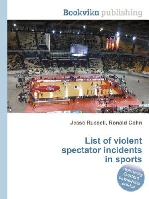 causes of spectator violence in sports The prevention of violence the beginning of this century has seen a shift in the type of violence associated responses to violence in everyday life in a democratic society in sport with sports events, in particular football.