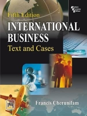 International Business : Text and Cases 5 Edition price comparison at Flipkart, Amazon, Crossword, Uread, Bookadda, Landmark, Homeshop18