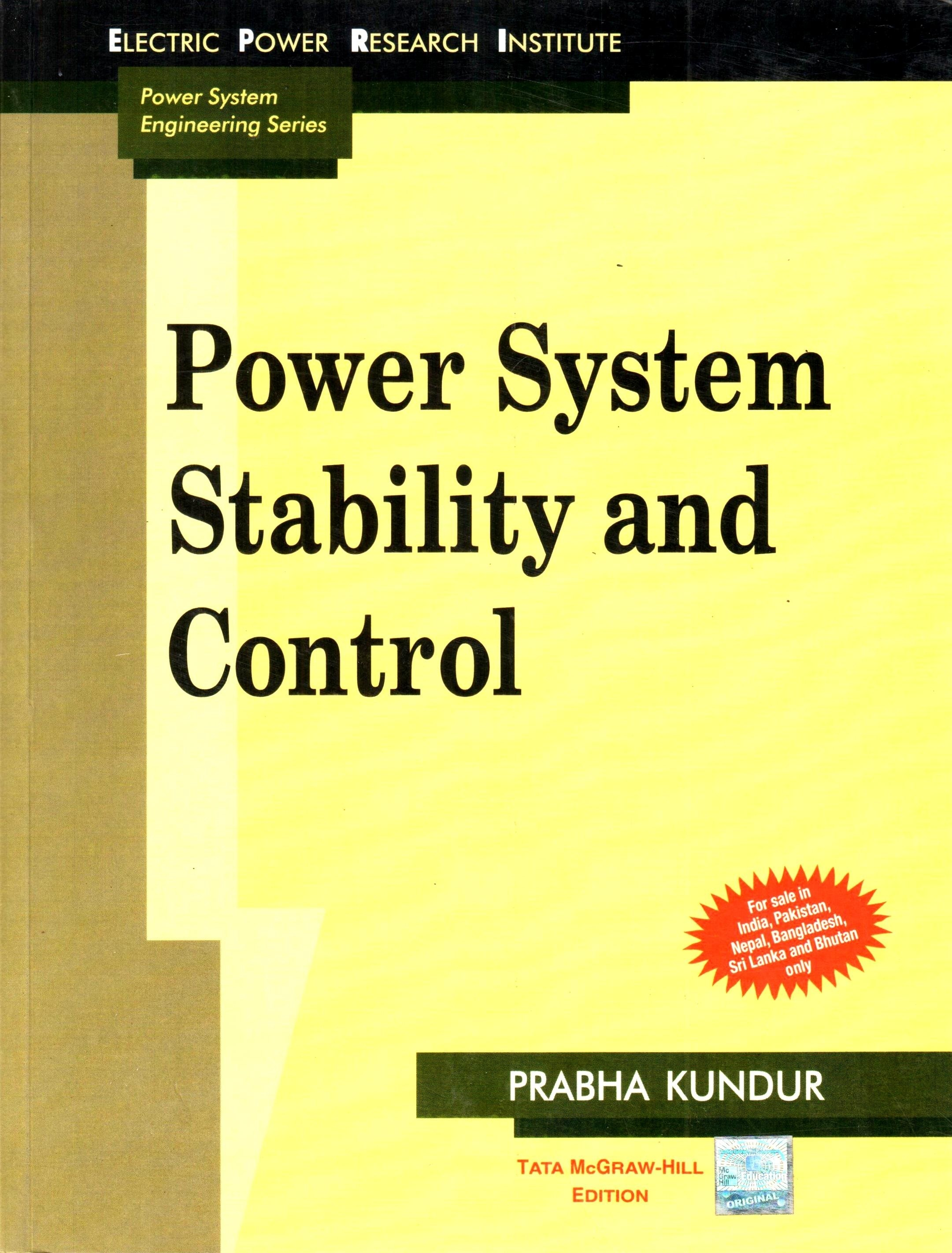 thesis on power system stability Power quality and voltage stability of power systems with a large share of distributed energy resources by yuva nandan reddy chejerla a thesis submitted in partial .