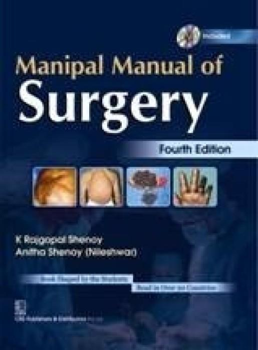 Manipal Manual Of Surgery English 4th Edition Buy