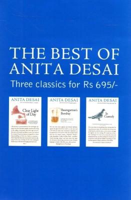 The Best of Anita Desai price comparison at Flipkart, Amazon, Crossword, Uread, Bookadda, Landmark, Homeshop18