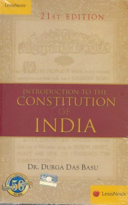Buy Introduction to the Constitution of India 21st Edition: Book