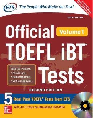 OFFICIAL TOEFL IBT VOL.1 W/DVD (English) price comparison at Flipkart, Amazon, Crossword, Uread, Bookadda, Landmark, Homeshop18