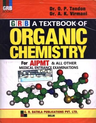 Textbook of Organic Chemistry for AIPMT & All Other Medical Entrance Examination (English) 3rd  Edition price comparison at Flipkart, Amazon, Crossword, Uread, Bookadda, Landmark, Homeshop18