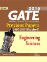 GATE Engineering Sciences 2016 : Previous Papers 2000 - 2015 (Unsolved) (English): Book