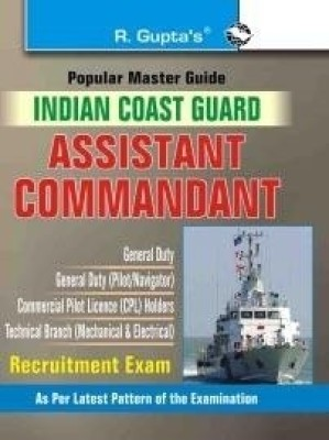 Buy Indian Coast Guard Assistant Commandant Exam Guide (English): Book