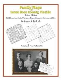 Family Maps of Santa Rosa County, Florida (English) (Paperback)