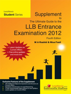 Buy The Ultimate Guide to the LLB Entrance Examination 2012 (English) 4th Edition: Book