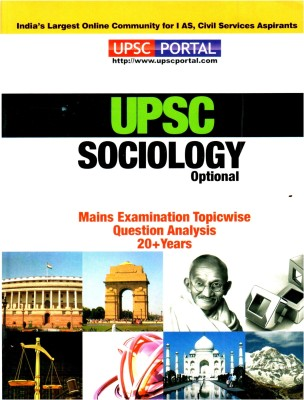 Sociology: UPSC Mains Examination Topic Wise Question Analysis PB 1st Edition available at Flipkart for Rs.143