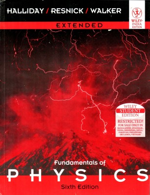 Buy Fundamentals Of Physics (English) 6th Edition: Book