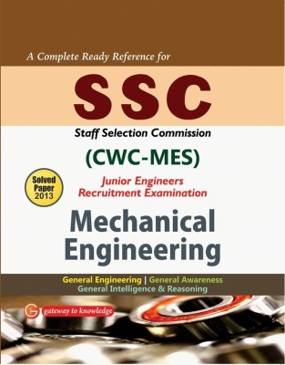 Buy SSC CWC-MES Junior Engineers Mechanical Engineering : Recruitment Examination Includes Solved Papers 2013 7th  Edition: Book