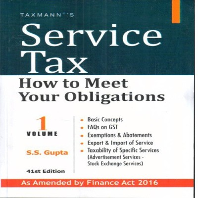 Service Tax -How to Meet Your Obligations