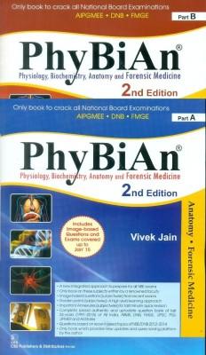 PhyBiAn : Physiology Biochemistry Anatomy and Forensic Medicine 2 Volume Set (English) price comparison at Flipkart, Amazon, Crossword, Uread, Bookadda, Landmark, Homeshop18