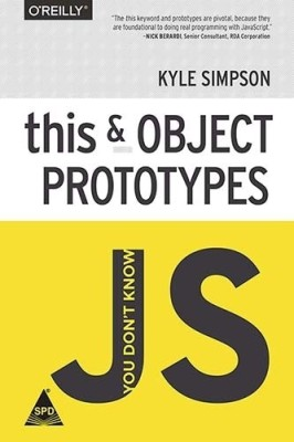 You dont Know Js: This and Object Prototypes (English) 1st  Edition price comparison at Flipkart, Amazon, Crossword, Uread, Bookadda, Landmark, Homeshop18