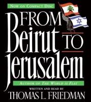 FROM BEIRUT TO JERUSALEM, 3CD'S (ABRIDGED) (English) Abridged Edition: Book