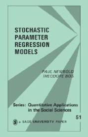 Stochastic Parameter Regression Models (English) illustrated edition Edition (Paperback)