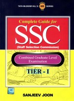 Complete Guide for SSC Staff Selection Commission: Combined Graduate Level Examination (Tier - 1) : Combined Graduate Level Examination (English): Book