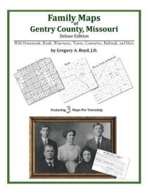 Family Maps of Gentry County, Missouri (English) (Paperback)