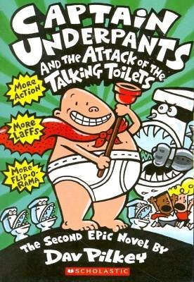 Captain Underpants and the Attack of the Talking Toilets price comparison at Flipkart, Amazon, Crossword, Uread, Bookadda, Landmark, Homeshop18