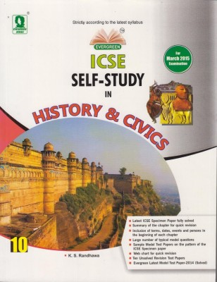 Buy ICSE Self-Study in History & Civics Class-10 01 Edition: Book