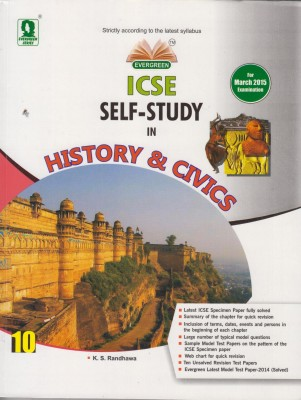 Buy ICSE Self-Study in History & Civics Class-10 (English) 01 Edition: Book