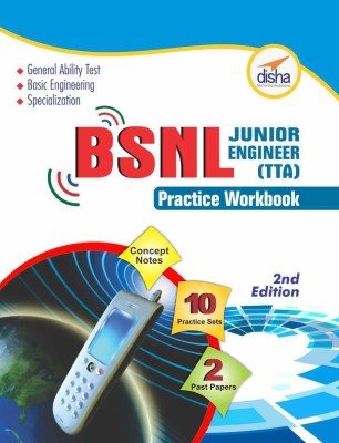 BSNL TTA Exam Guide + Practice Workbook (Concept Notes + 2 Solved + 10 Practice Sets) 2nd Edition (English) price comparison at Flipkart, Amazon, Crossword, Uread, Bookadda, Landmark, Homeshop18