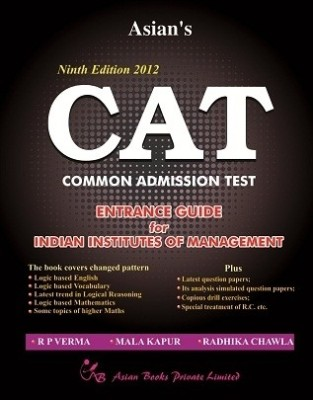 Buy CAT: Common Admission Test (English) 9th Edition: Book