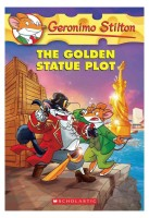 GERONIMO STILTON #55 THE GOLDEN STATUE PLOT (English): Book