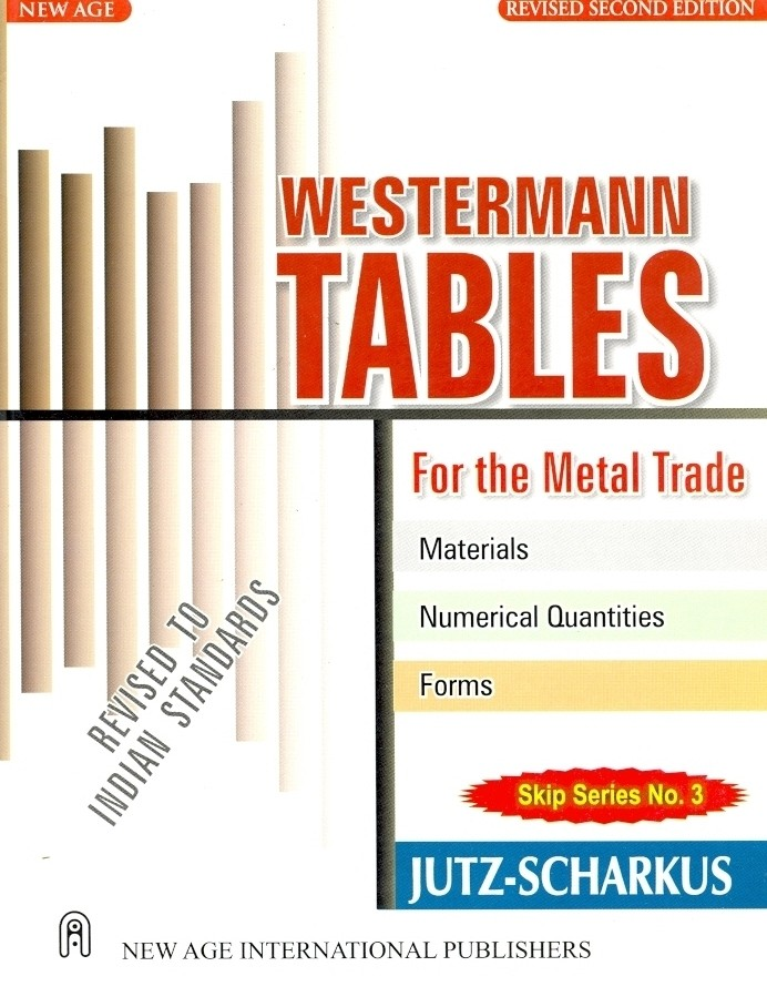 westermann tables for the metal trade english 2nd edition buy westermann tables for the. Black Bedroom Furniture Sets. Home Design Ideas