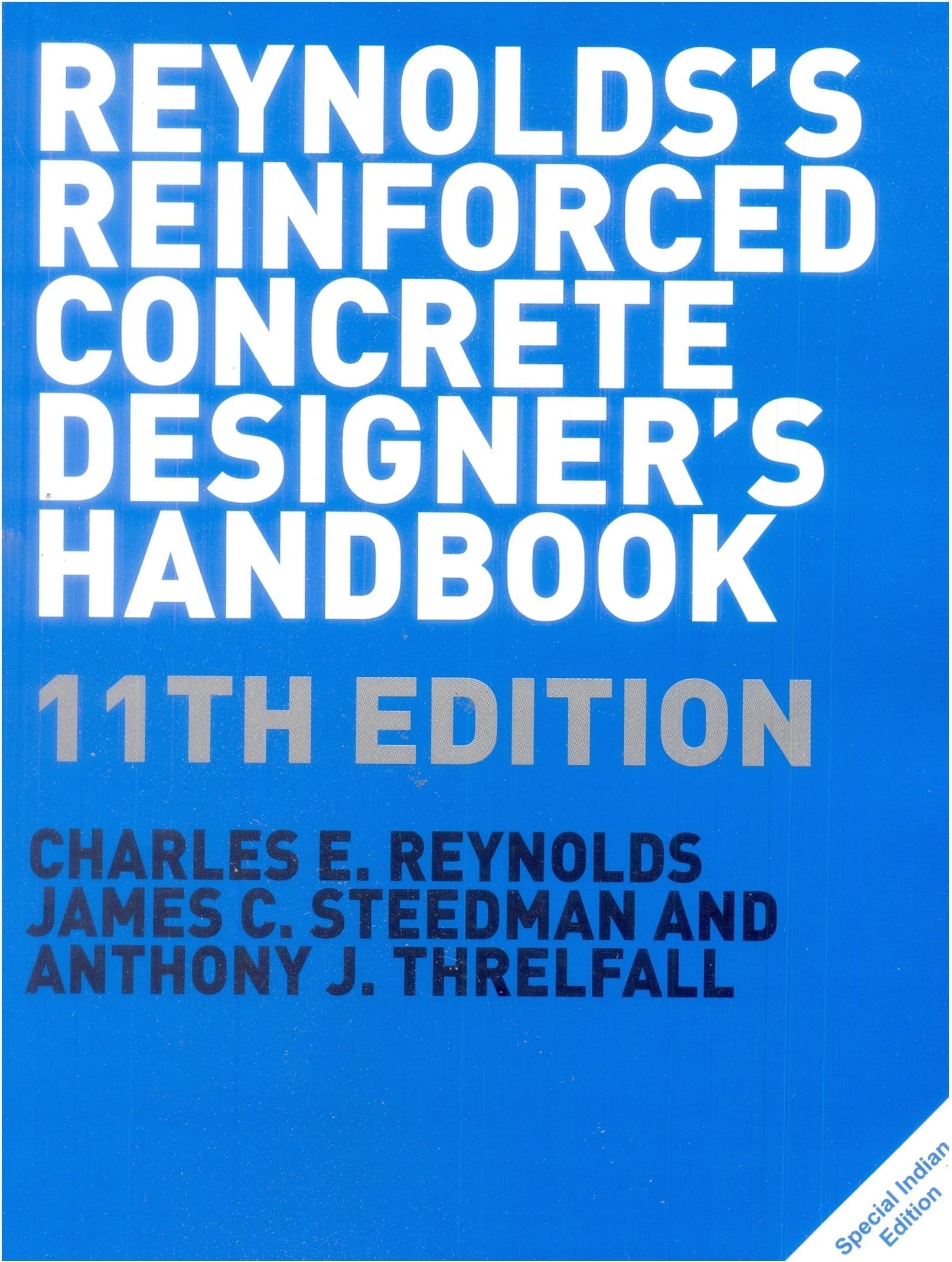 Reinforced Concrete Designer S Handbook