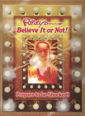 Buy Ripley's Believe It Or Not: Prepare to Be Shocked (Ripley's Believe It Or Not): Book