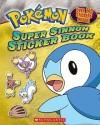 Super Sinnoh Sticker Book (Pokemon) (English): Book
