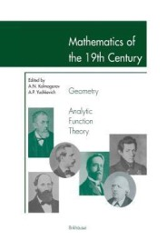 Mathematics of the 19th Century: Geometry, Analytic Function Theory (English) (Paperback)