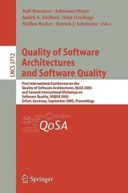 Quality Of Software Architectures And Software Quality (English) (Paperback)