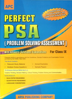Buy Perfect PSA Problem Solving Assessment with Answers/Solutions/Explanations for CBSE Class - 9 1st Edition (English) 1st  Edition: Book