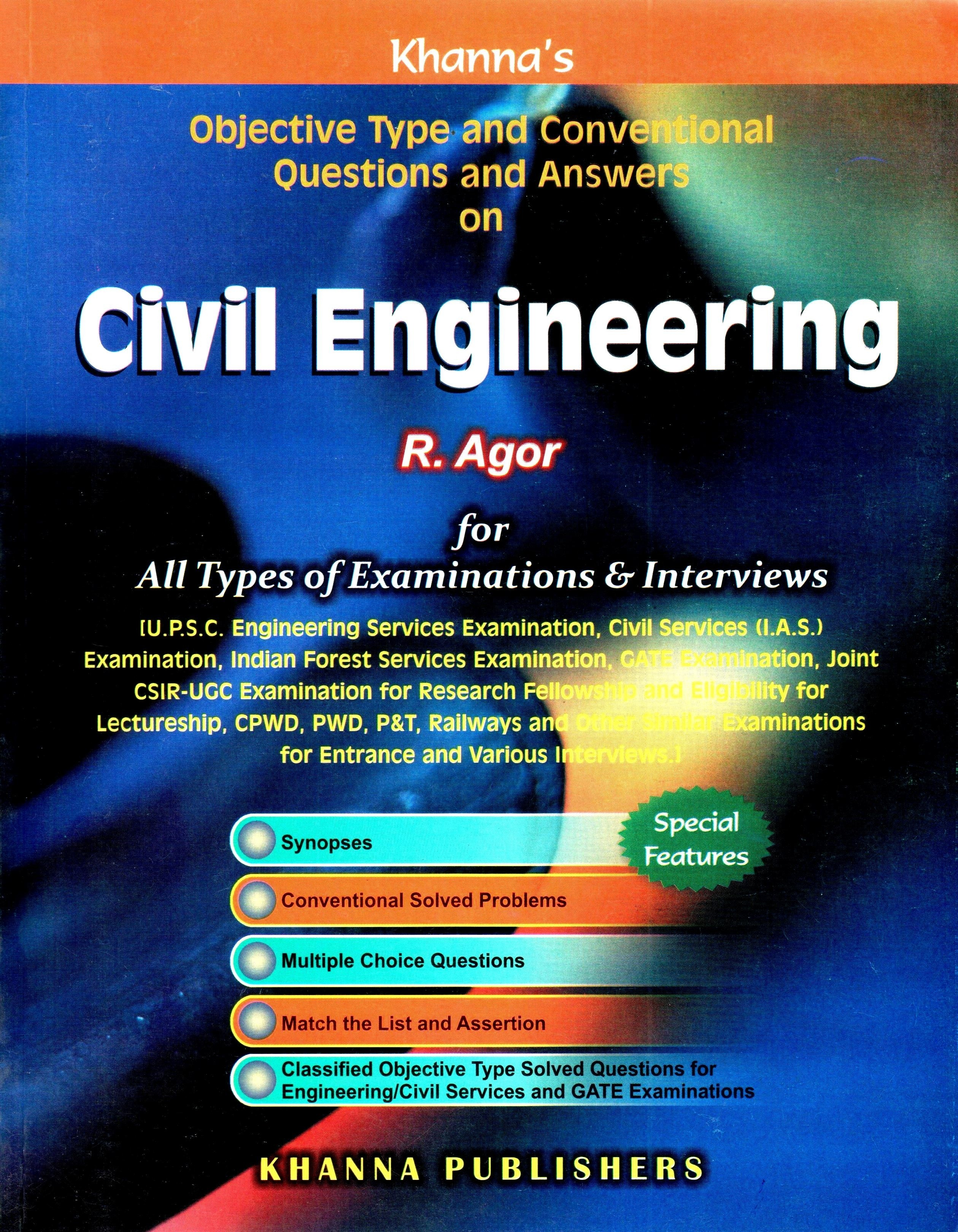 Civil engineering mcqs by r agor : Bajar Libros Gratis Pdf Sin