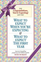 The Congratulations, You're Expecting! Gift Set: What to Expect When You're Expecting & What to Expect the First Year (English): Book