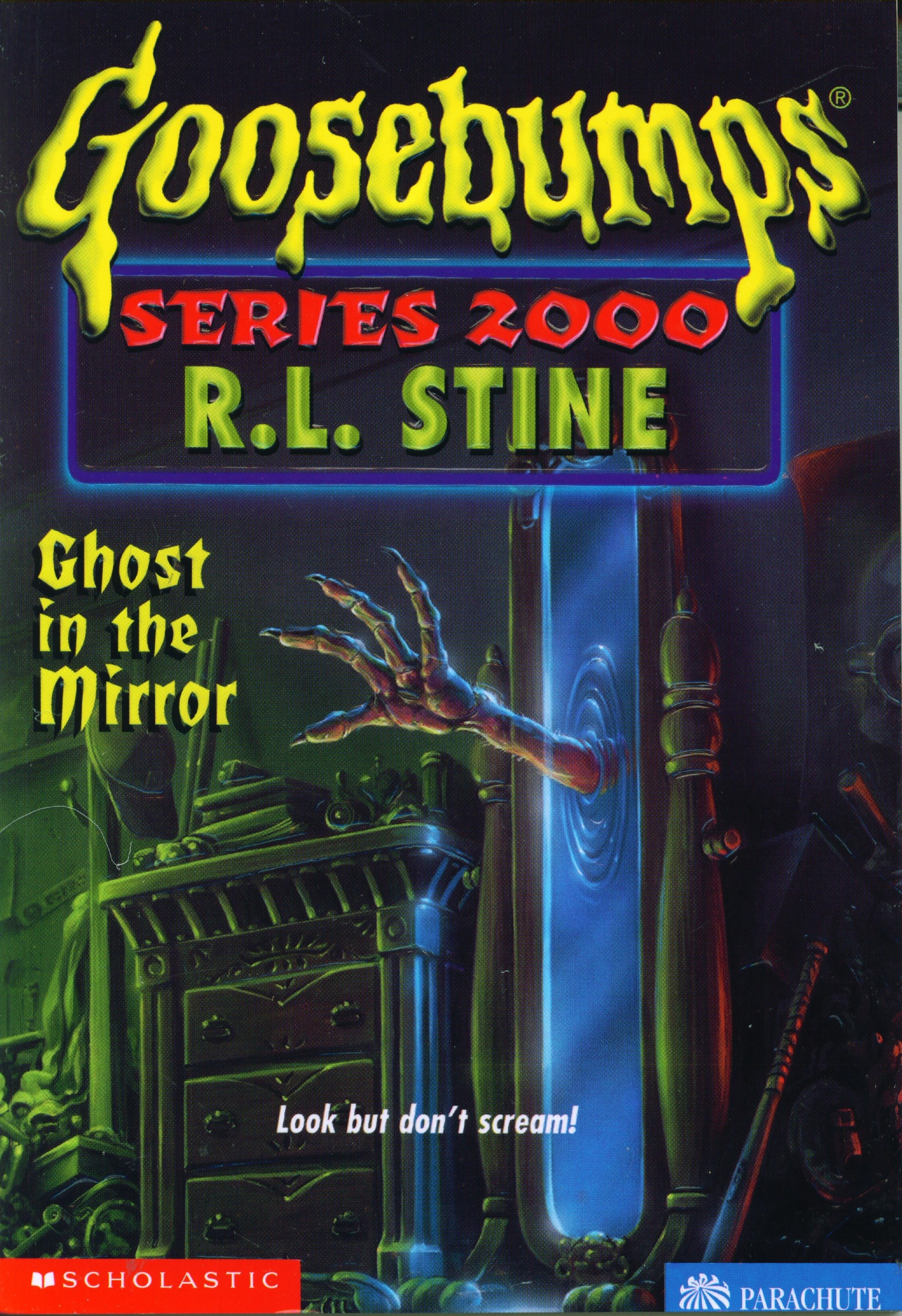 Goosebumps series 2000 ghost in the mirror book 25 for Mirror books