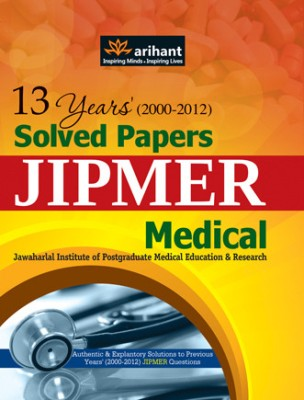 Buy 13 Years (2000-2012) Solved Papers Jipmer Medical PB: Book