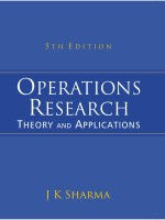 Operations Research: Theory and Applications 5th Edition (English) 5th  Edition: Book