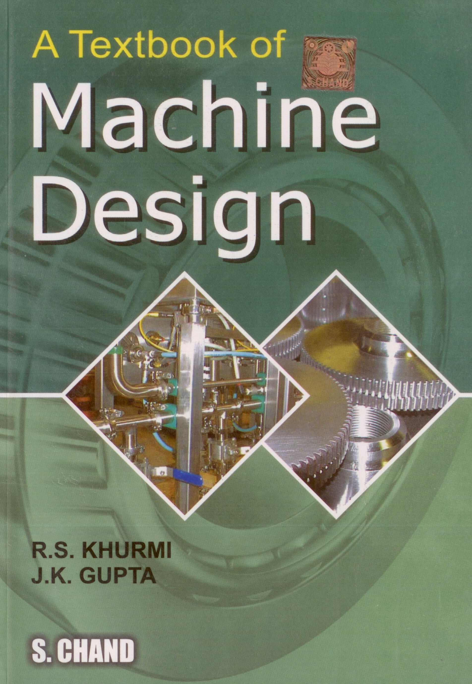 Machine Design Book By Vb Bhandari