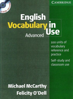 Buy English Vocabulary In Use Advanced (With Cd-Rom) 1st Edition: Book
